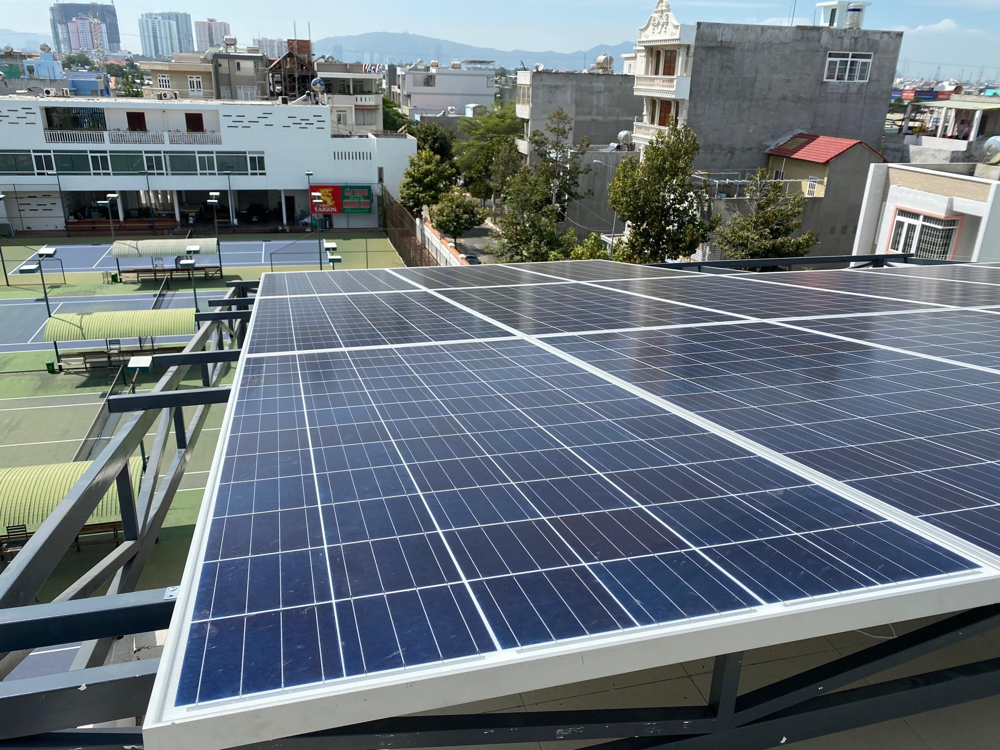 Hệ thống điện năng lượng mặt trời hòa lưới 10kWp - Vũ Sơn Solar
